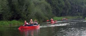 kanoën op de Berkel